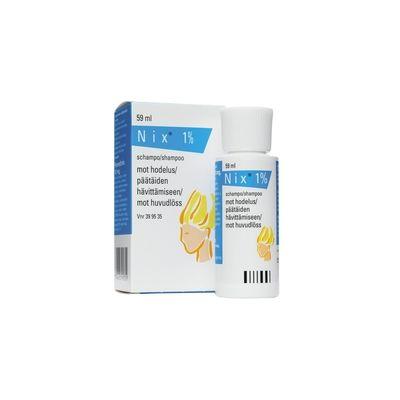 NIX 1 % shampoo 59 ml