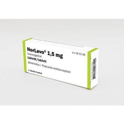 NORLEVO 1,5 mg tabl 1 fol