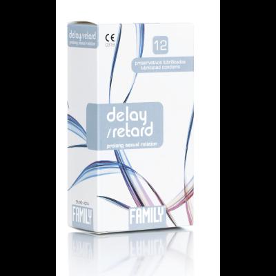 Family Delay/retard kondomi 12 kpl
