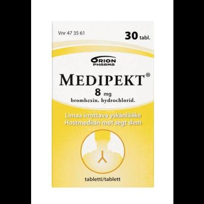 MEDIPEKT 8 mg tabl 30 kpl