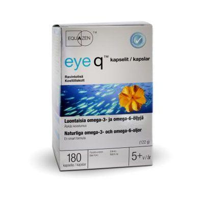 Eye q kaps rasvahappovalmiste 180 kpl