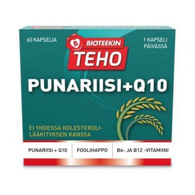 BIOTEEKIN TEHO PUNARIISI+Q10 X60 KAPS