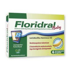 Floridral Baby annosjauhe 6x6,8 g