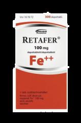 RETAFER 100 mg depottabl 300 kpl