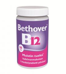 BETHOVER 1 MG B12-VITAMIINI X50 TABL