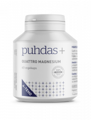 Puhdas+ Quattro Magnesium 60 kaps
