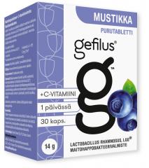 Gefilus Mustikka purutabletti X30 kpl