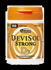 DEVISOL STRONG 100 MIKROG IMESKELYTABL 100 kpl