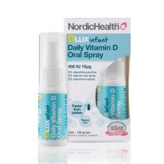 Nordic Health DLux Infant D3-suihke  10 mikrog 15 ml