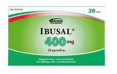 IBUSAL 400 mg tabl, kalvopääll 20 fol