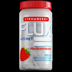Flux Strawberry fluoritabletti 250 mcg 300 imeskelytabl